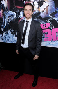Christopher Scott at the world premiere of