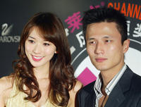 Lin Chiling and Terrence Yin at the 2004 Lycra Channel Young In-Style Awards.