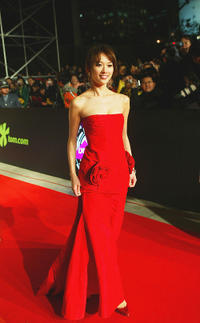 Lin Chiling at the 2004 Lycra Channel Young In-Style Awards.