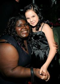 Gabourey Sidibe and Bailee Madison at the Lionsgate Golden Globe Party.