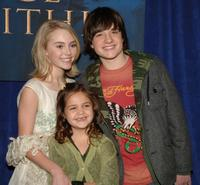 AnnaSophia Robb, Bailee Madison and Josh Hutcherson at the premiere of