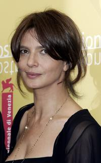 Laura Morante at the photocall to promote