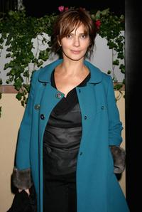 Laura Morante at the Ciak magazine party during the 2nd Rome Film Festival.