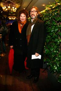 Yolande Moreau and Director Martin Provost at the Cristal Awards for Art and Culture.