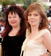 Yolande Moreau and director Laure Duthilleul at the premiere of