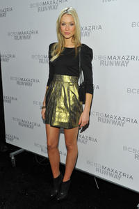 Katrina Bowden at the BCBGMAXAZRIA Fall 2011 fashion show during the Mercedes-Benz Fashion Week.