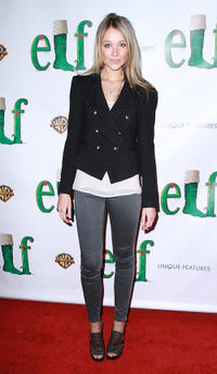 Katrina Bowden at the Broadway opening night of