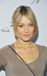 Katrina Bowden at the Max Azria Fall 2011 fashion show during the Mercedes-Benz Fashion Week.