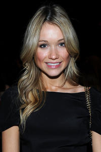 Katrina Bowden at the Rebecca Minkoff Fall 2011 fashion show during the Mercedes-Benz Fashion week.