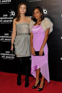Maeve Dermody and Marissa Gibson at the 2009 AFI Industry Awards in Australia.