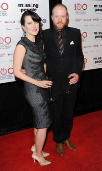 Alice Lowe and Steve Oram at the London Critics' Circle Film Awards.