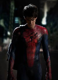 Andrew Garfield as Spider-Man in