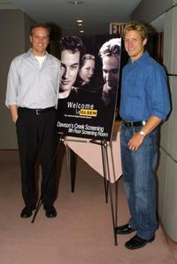 Director Jason Moore and David Monahan at the screening of