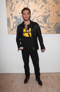 Ed Westwick at the Todd DiCiurcio