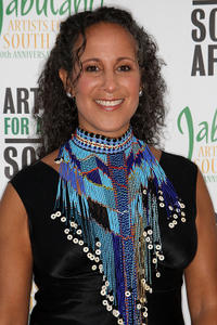Gina Belafonte at the Artists for a New South Africa 20th Anniversary Celebration.