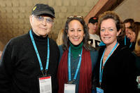 Norman Lear, Gina Belafonte and Cara Mertes at the Board Brunch/Director's Circle during the 2011 Sundance Film Festival.