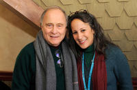Wally Weisman and Gina Belafonte at the Board Brunch/Director's Circle during the 2011 Sundance Film Festival.