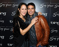 Gina Belafonte and Esai Morales at the