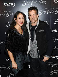 Gina Belafonte and Kenneth Cole at the