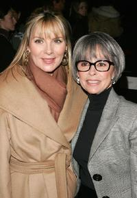 Rita Moreno and Kim Cattrall at the Michael Kors Fall 2007 fashion show during Mercedes-Benz Fashion Week.