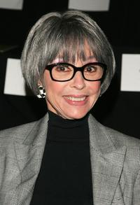 Rita Moreno at the Michael Kors Fall 2007 fashion show during Mercedes-Benz Fashion Week.