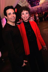 Rita Moreno and Mario Cantone at the 22nd annual Macy's Passport 04 - Cocktail Reception And Fashion Show.
