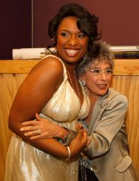 Rita Moreno and Jennifer Hudson at the