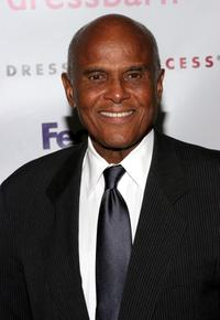 Harry Belafonte at the Dress For Success 'April In Paris' annual gala.