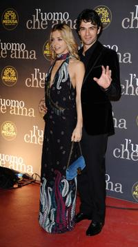 Miriam Catania and Luca Argentero at the L'Uomo Che Ama Party during the 3rd Rome International Film Festival.