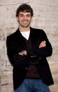 Luca Argentero at the photocall of