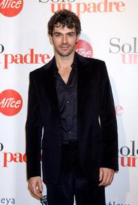 Luca Argentero at the premiere of