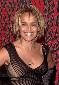 Shari Belafonte at the Valentino 40th Anniversary Event.