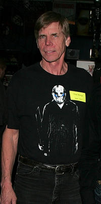 Tom Morga at the Anchor Bay Entertainment's Jason Voorhees Reunion in California.