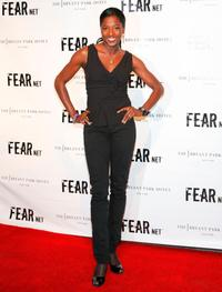 Rutina Wesley at the Fearnet's 2nd Anniversary party.