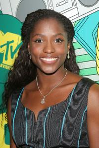 Rutina Wesley at the MTV's Total Request Live.
