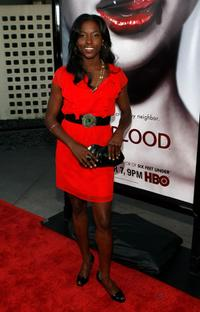 Rutina Wesley at the Los Angeles Premiere of