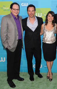 Austin Basis, Kerr Smith and Shiri Appleby at the 2010 The CW Network UpFront in New York.