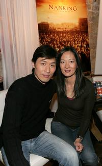 Sonny Saito and Rosalind Chao at the