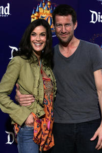 Teri Hatcher and James Denton at the Disneyland 50th Anniversary Celebration.