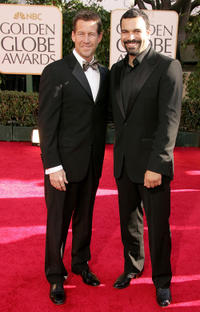 James Denton and Ricardo Chavira at the 64th Annual Golden Globe Awards.