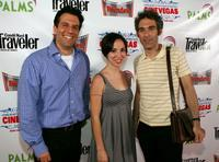 Producer Mark Raybin, Mary Wall and Ronald Bronstein at the screening of