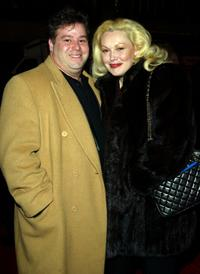 Joseph Gentile and Cathy Moriarty at the New York premiere of