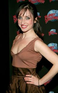Zoe Lister-Jones at the after party of the opening night of