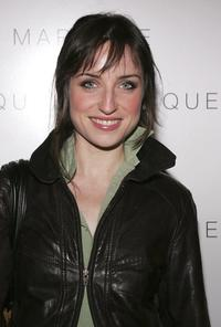 Zoe Lister-Jones at the LaSalleHolland Tribeca Film Festival party.