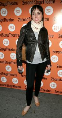 Zoe Lister-Jones at the opening night of
