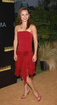 Sasha Cohen at the premiere party of