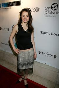 Sasha Cohen at the Reel Lounge Gala Benefit for The Film Foundation.