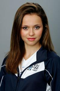 Sasha Cohen at the USOC Olympic Media Summit.