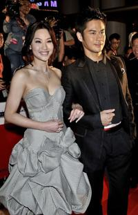 Kate Tsui and Kevin Chang Ka-wing at the Asian Film Awards 2008.