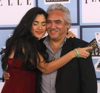 Veronica Loren and Pedro Castaneda at the 2008 Spirit Awards.
